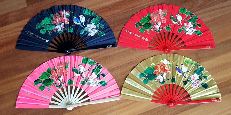 Tai Chi Fan - Bamboo